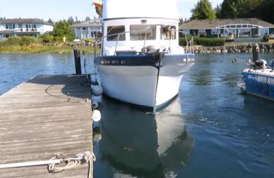 thruster docking boat