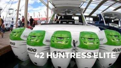 42 Huntress quint engines