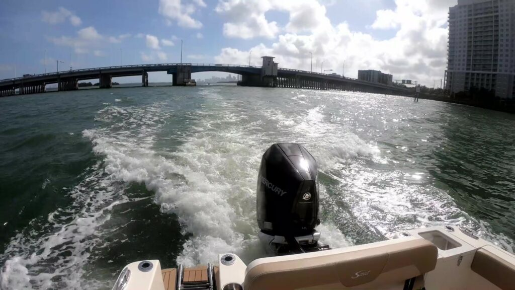 single outboard