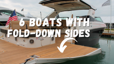 fold down boat sides