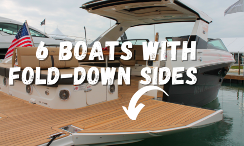 6 Boats Designed with Fold-down Sides for Expanded Decks, Cockpits and Water Access