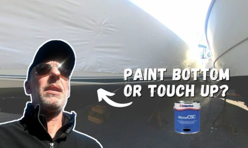 Does Our Boat Need Full Bottom Paint or Touch up?
