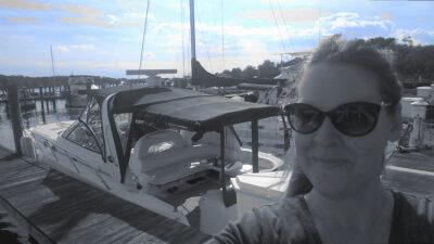 boating women