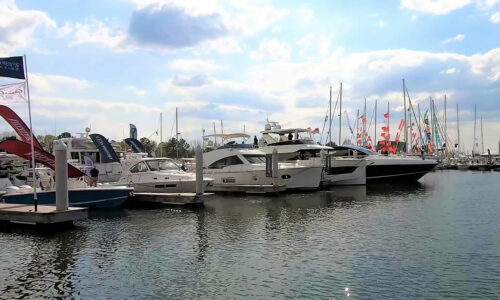 Bay Bridge Boat Show 2021 in Maryland with Video